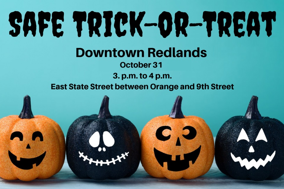 Safe Trick-or-Treat Event