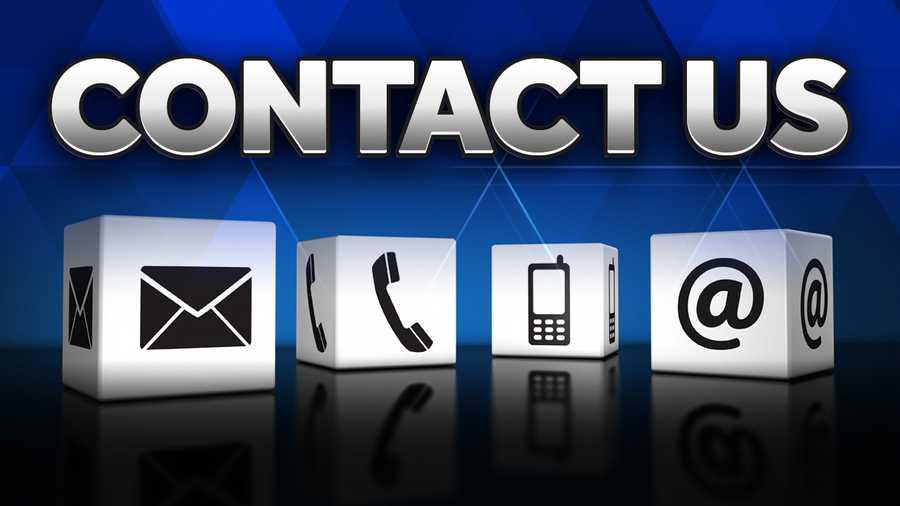 Contact Us logo with icons