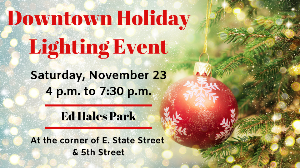 Downtown Holiday Lighting Event Image