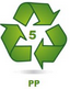PP recycling logo