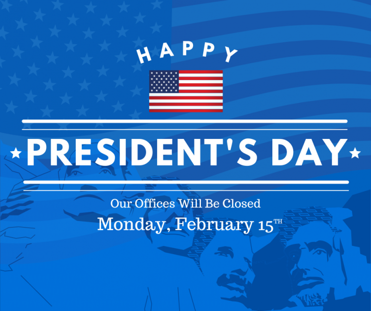 Our offices will be closed Martin Luther King Jr. Day January 18th 2021