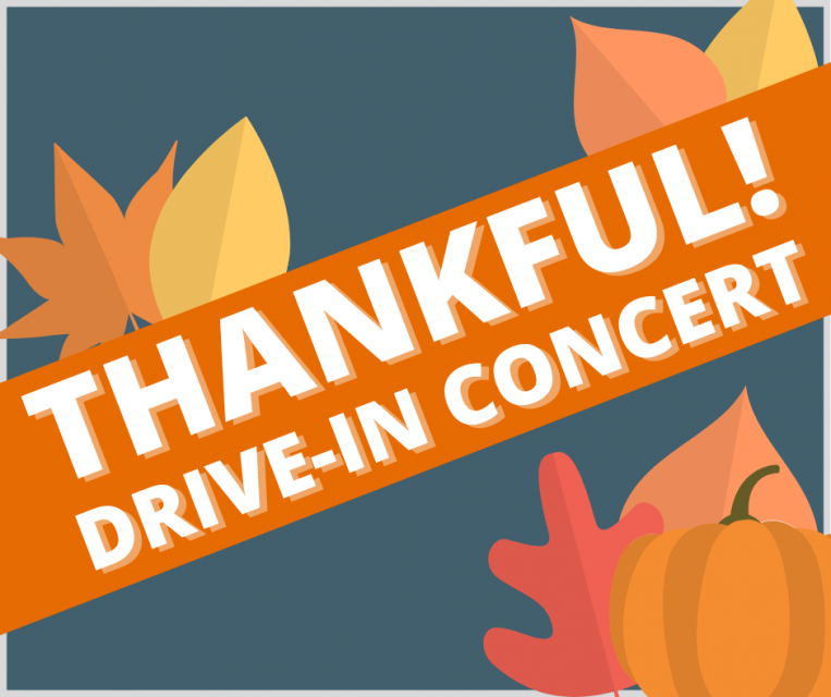 Thankful Drive In Concert