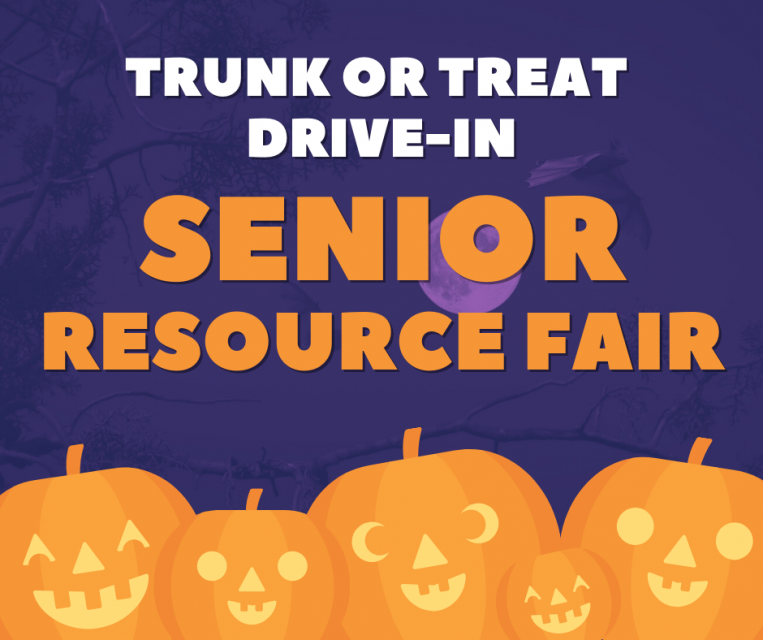 Trunk or treat drive thru senior resource fair