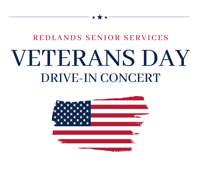 Redlands Senior Services Veterans Day Drive In Concert