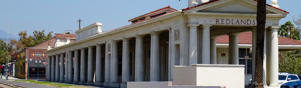 Image of historic Santa Fe Depot