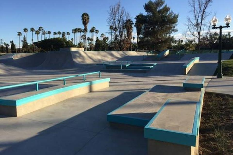 picture of redlands skate park