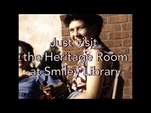 Smiley library preserving 'life in motion' from home movies