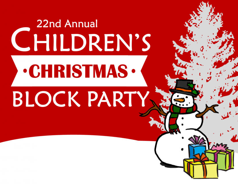 22nd Annual Children's Christmas Block Party