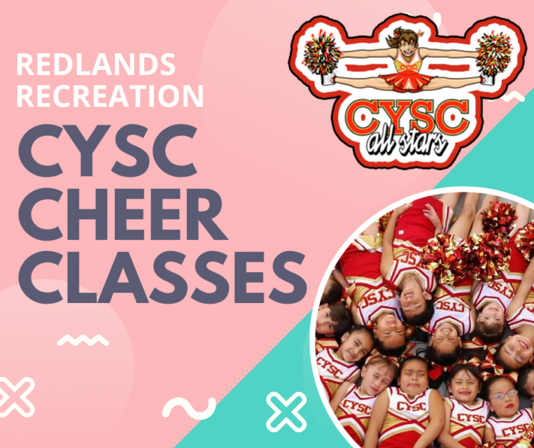 Redlands Recreation CYSC Cheer Post