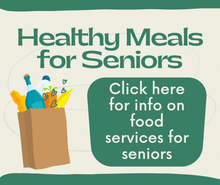 Healthy Meals for Seniors click her for info on food services for seniros